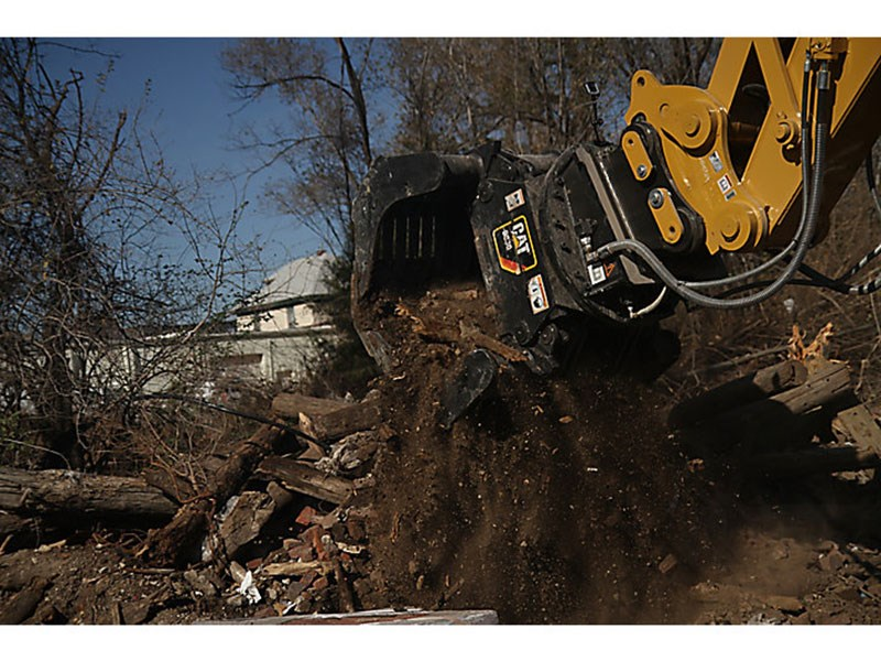 Catterpillar G320B-D Demolition and Sorting Grapple