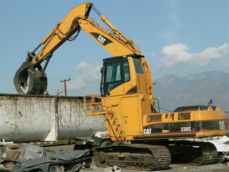 Caterpillar Contractor Grapples
