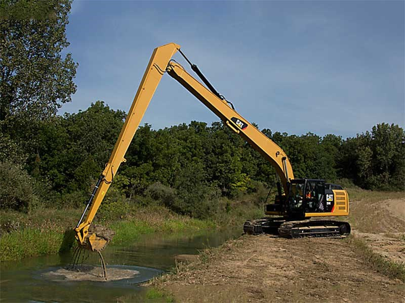 Caterpillar Ditch Cleaning Buckets