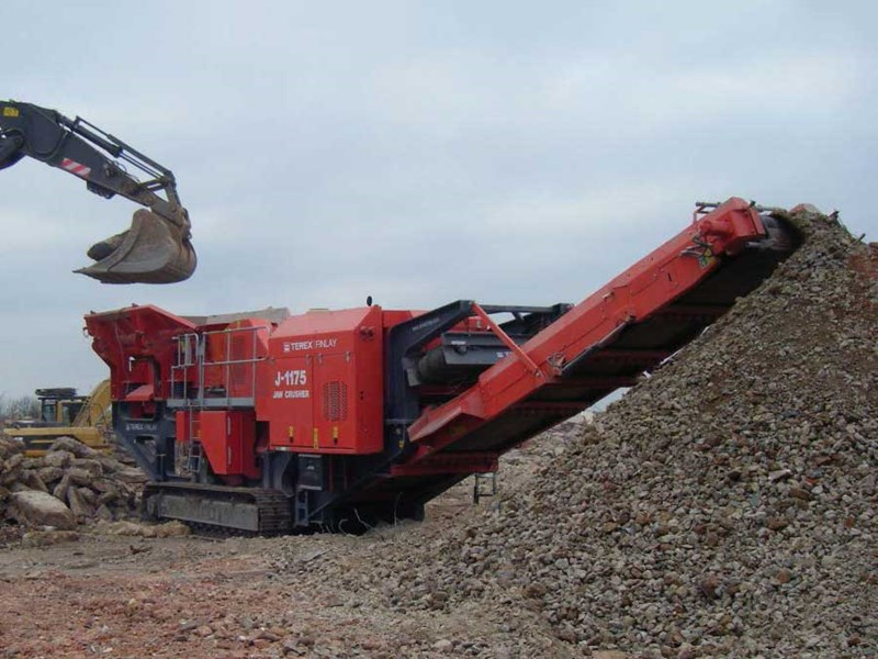 Terex Finlay Jaw Crusher