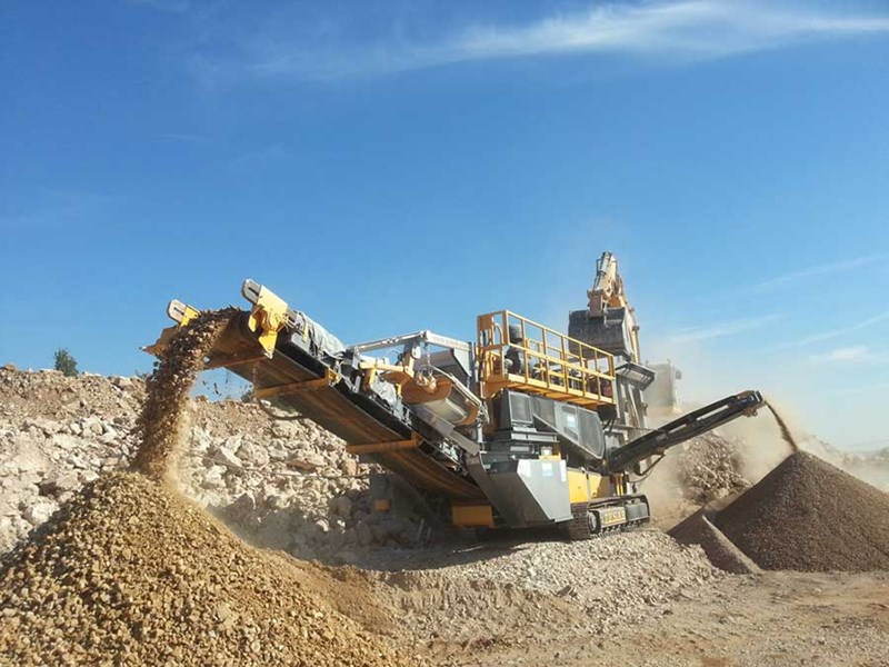 Tesab 1012TR Mobile Impact Crusher