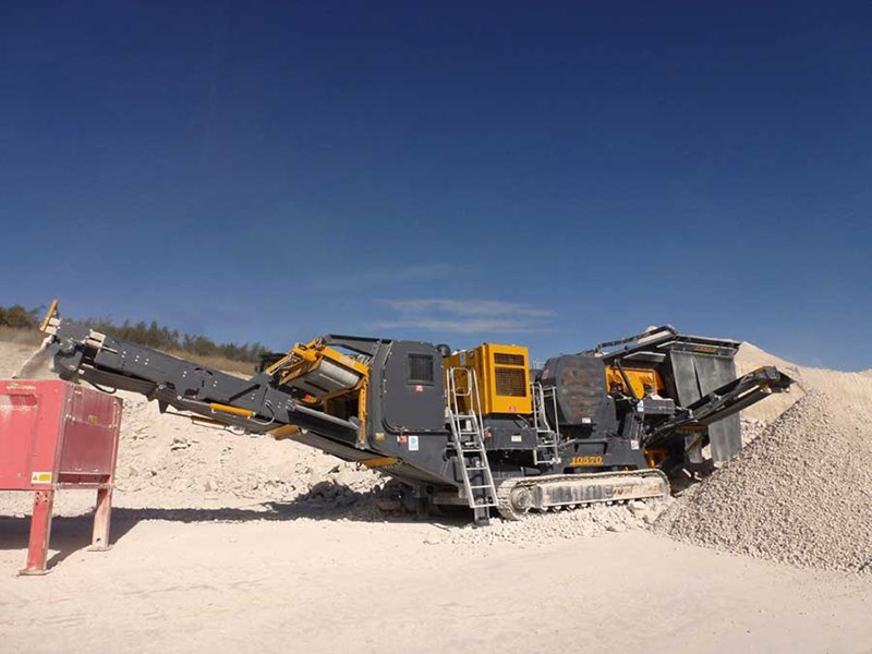 Tesab 10570 Mobile Jaw Crusher
