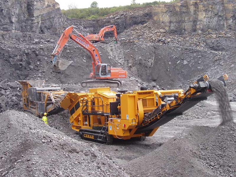 Tesab 1412T Mobile Impact Crusher
