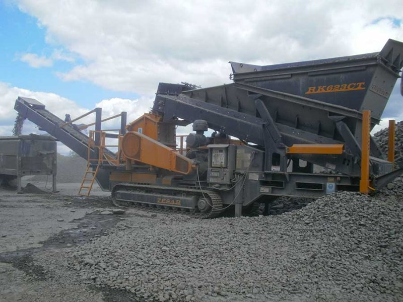 Tesab 623CT Mobile Impact Crusher