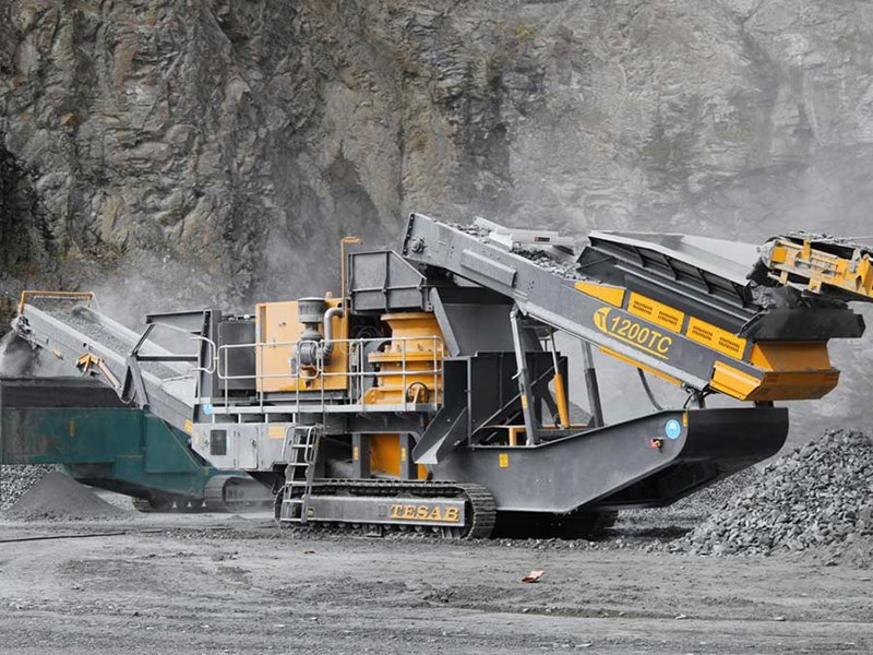 Tesab TC1200 Mobile Cone Crusher