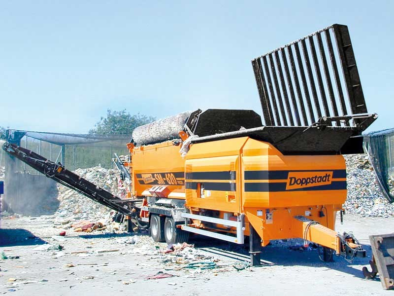 Doppstadt SM620 Trommel Screen