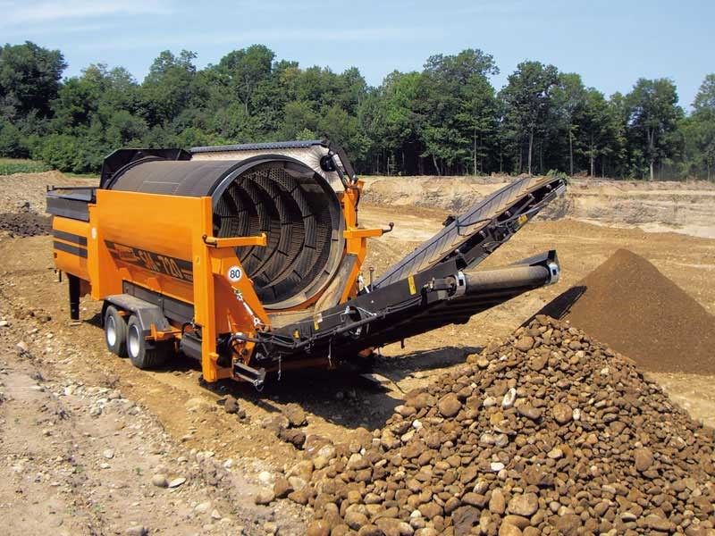 Doppstadt SM720 Trommel Screen