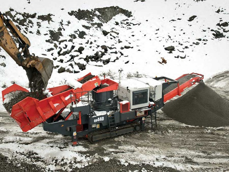 Sandvik QH441 Mobile Cone Crusher