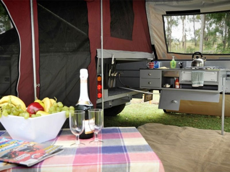 Johnno's Camper Trailers Off Road Deluxe