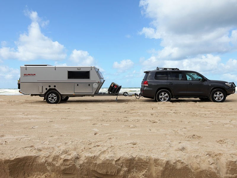 Innovative New AUSTRALIAN OFF ROAD QUANTUM III Caravans For Sale