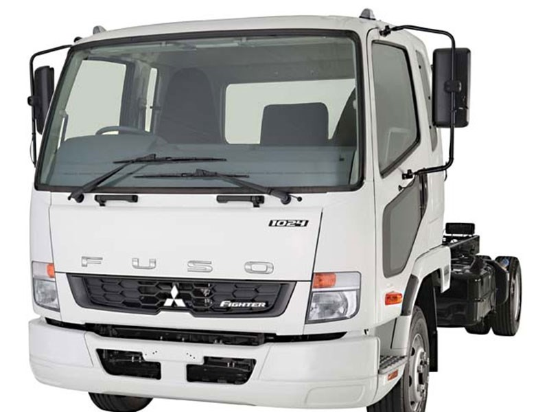 Fuso Fighter 1024 Rear PB