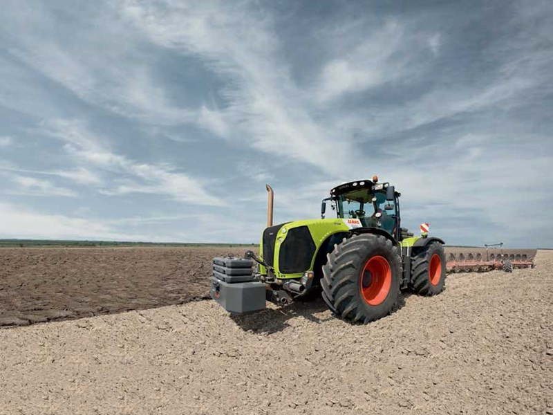 Gemeinsame New CLAAS XERION 4500 T Tractors for sale #XY_18