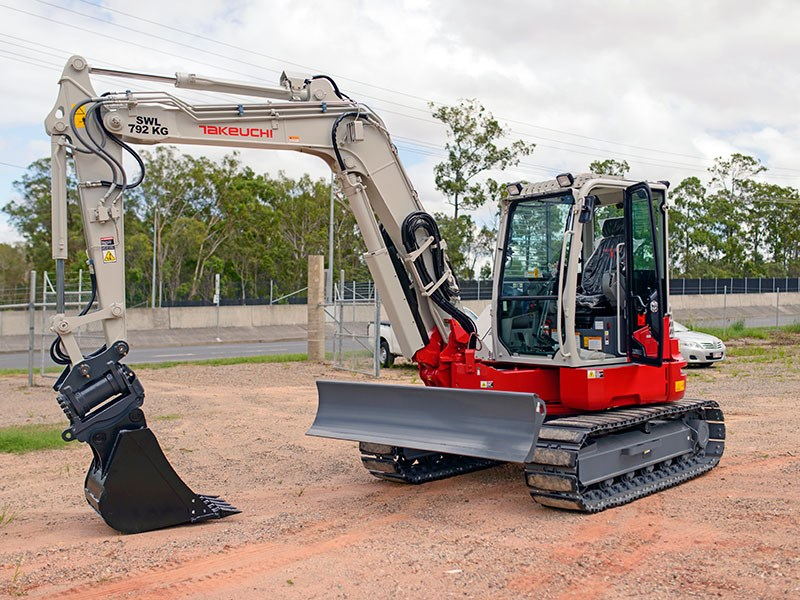 Used Bobcats For Sale >> New TAKEUCHI TB280FR Excavators for sale