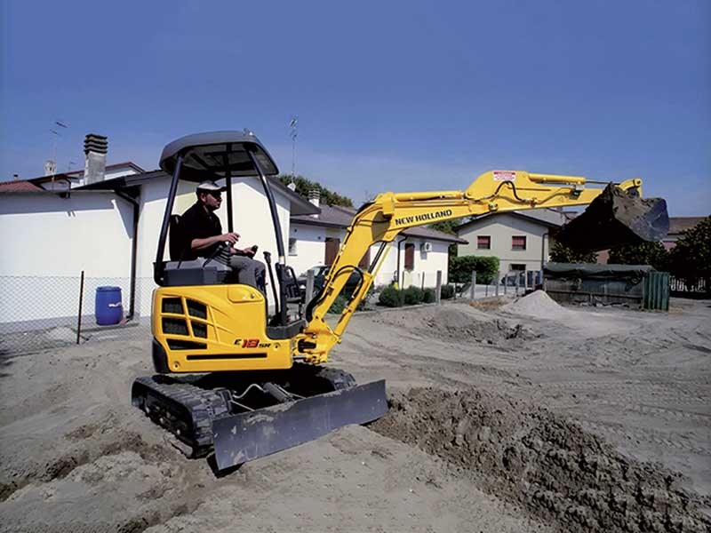 New Holland E18SR Mini Excavator