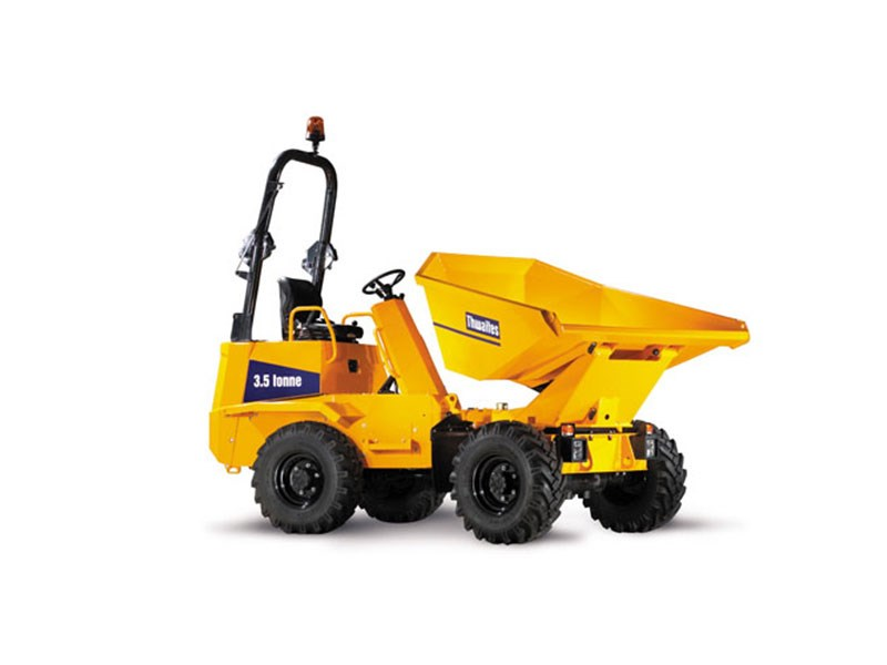 Thwaites 3.5 Tonne Power Swivel Hydrostatic Site Dumper