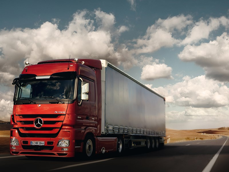Mercedes Benz Actross 18T Cabover