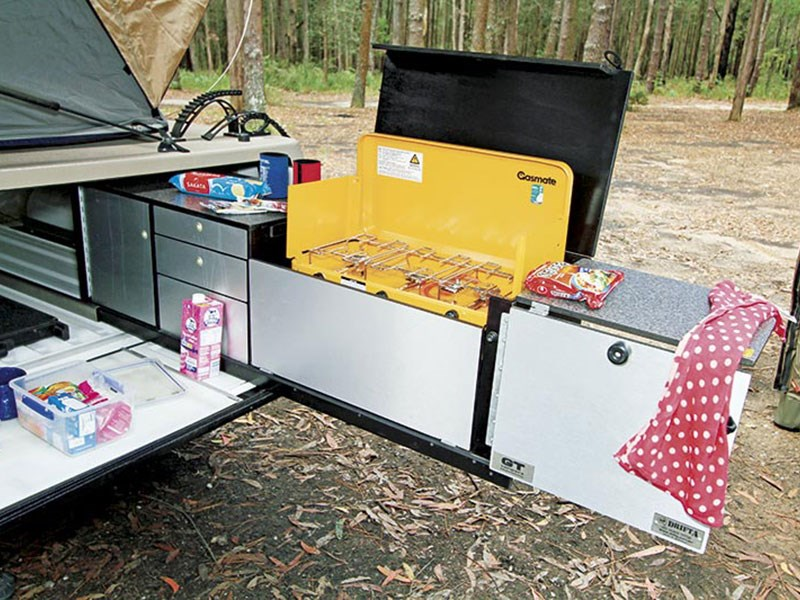 GT Campers Off-Road Touring Trailer