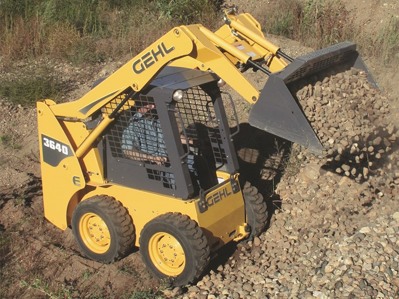 Gehl 3640E Skid Steer Loader