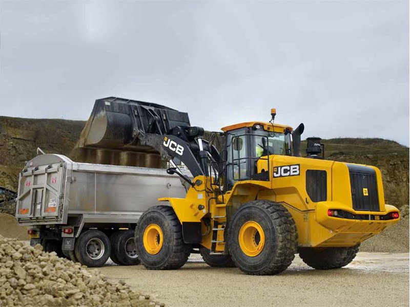 JCB 467 ZX Wheel Loader