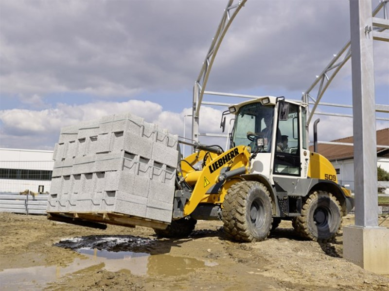 Liebherr 509 Wheel Loader