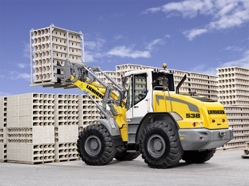 Liebherr 538 Wheel Loader