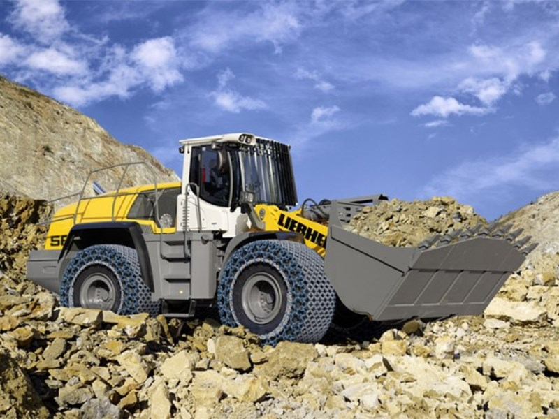Liebherr 566 Wheel Loader