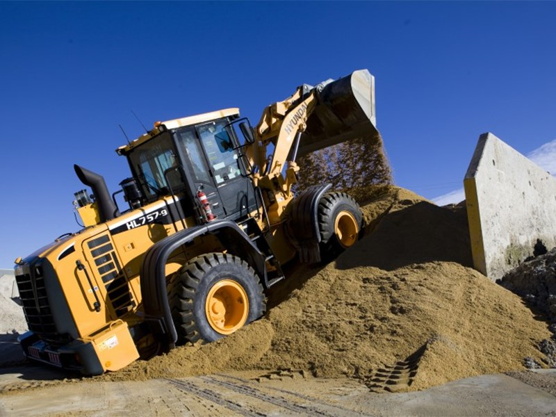 Hyundai HL757-9 Wheel Loader