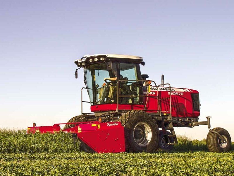 New MASSEY FERGUSON WR9870 Windrowers for sale