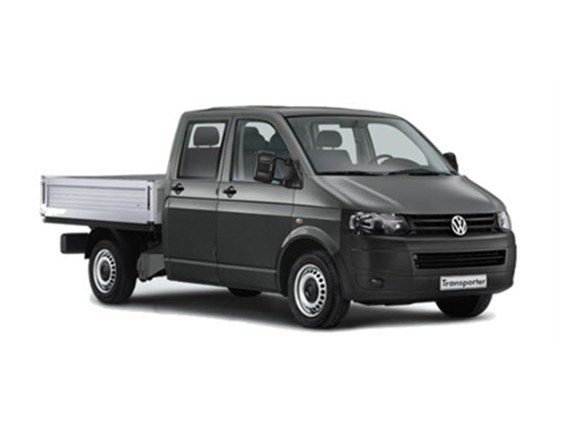 New Volkswagen Transporter Dual Cab Chassis Light