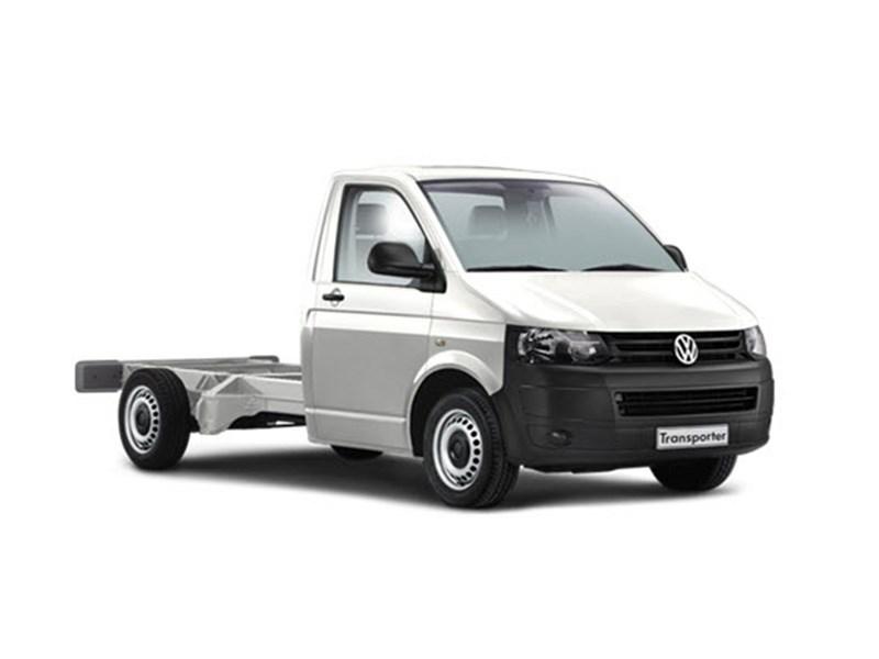 New Volkswagen Transporter Single Cab Chassis Light