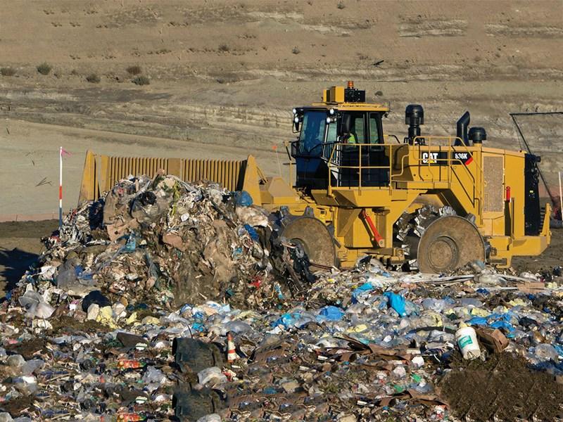 Landfill Compactor Maintenance : New caterpillar k landfill compactor compaction for sale