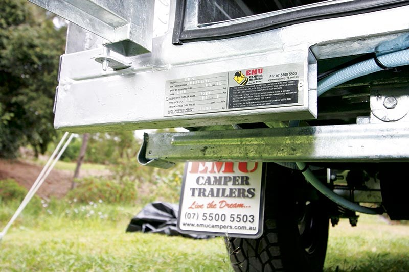 Emu Camper Trailers Off-road