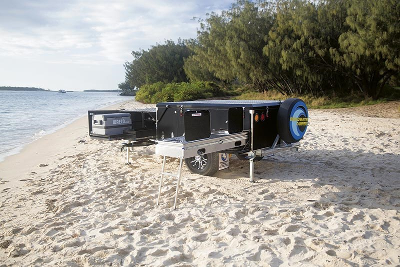 Broadwater Campers Fraser camper trailer