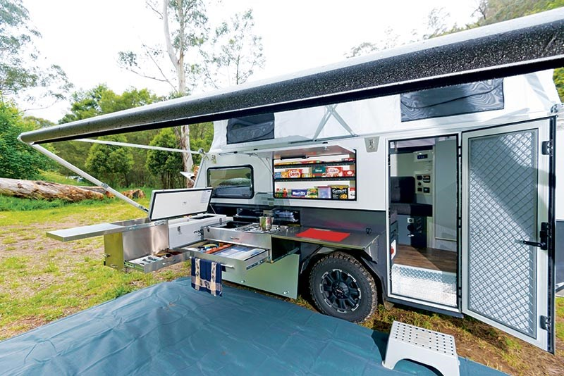 Australian Off Road Quantum Super Camper Series IV