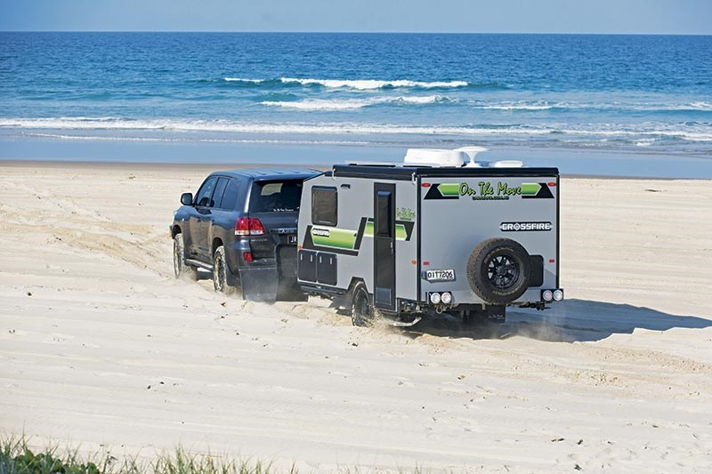 On The Move Crossfire caravan/camper hybrid