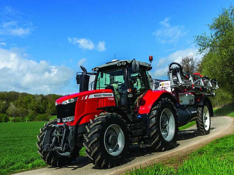 New MASSEY FERGUSON 7720EFDV Tractors for sale