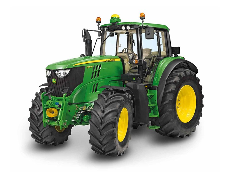 New John Deere 6155m Ft4 Tractors For Sale