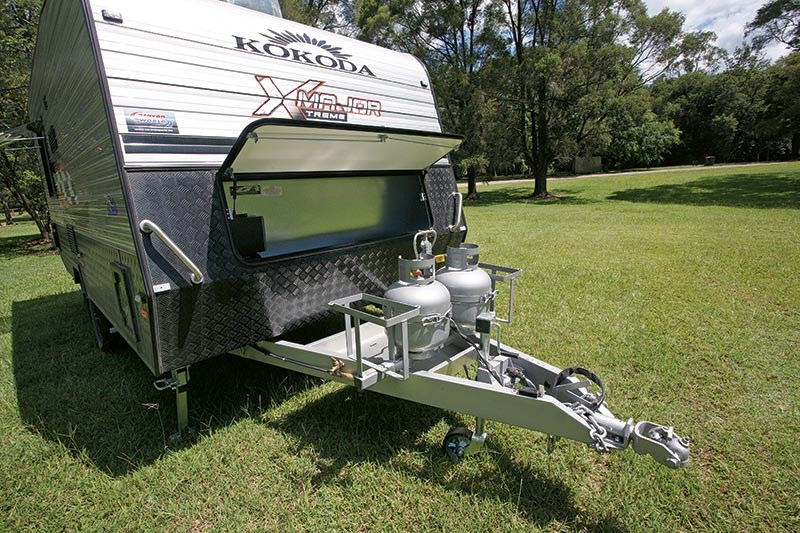 Kokoda Major X-treme caravan