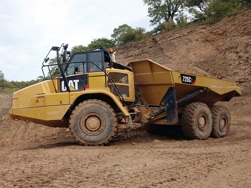 Caterpillar 725C2 Articulated Dump Truck