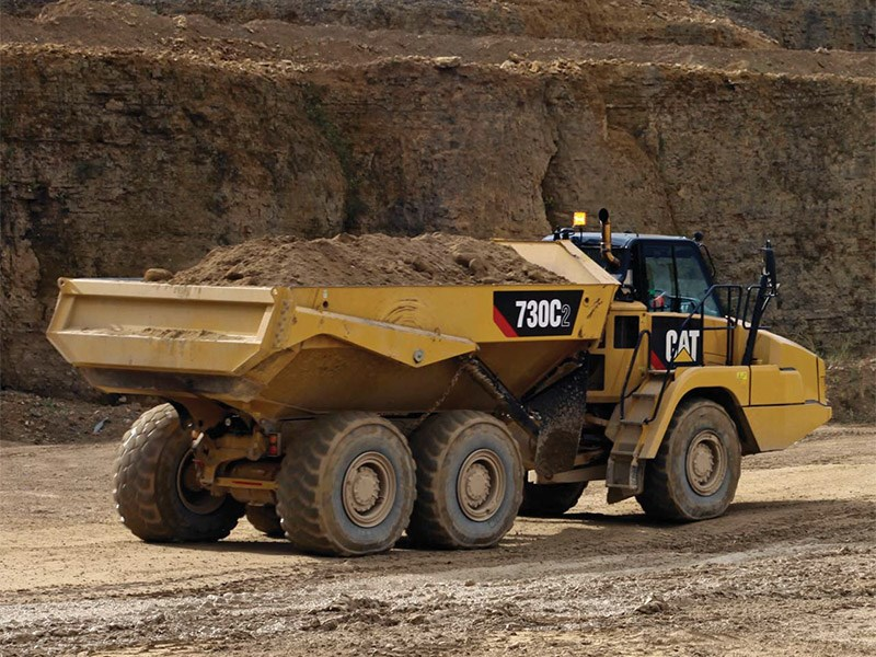 Caterpillar 730C2 Articulated Dump Truck