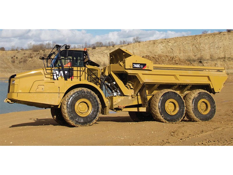 Caterpillar 740C EJ Articulated Dump Truck