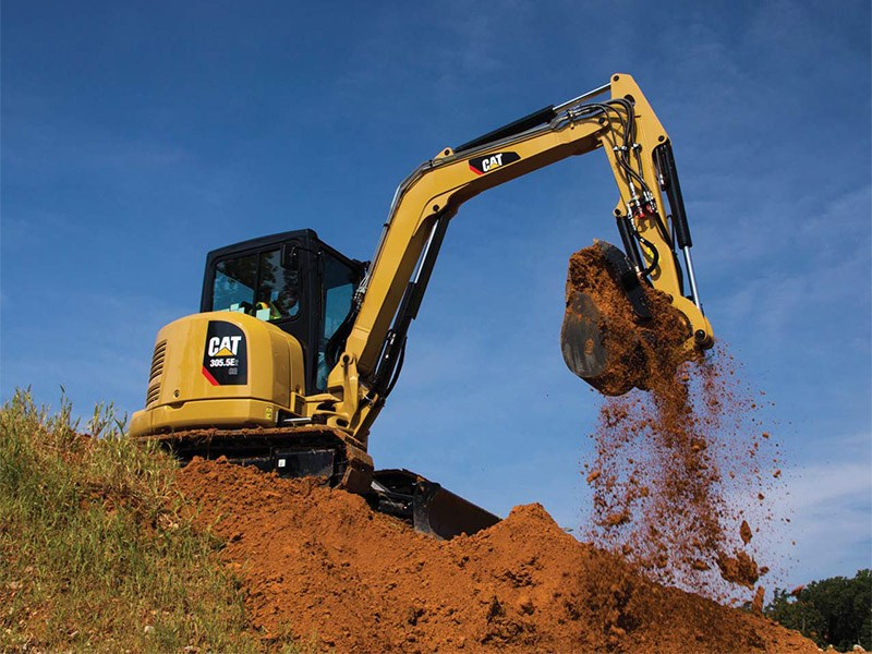 Caterpillar E2 Mini Excavators