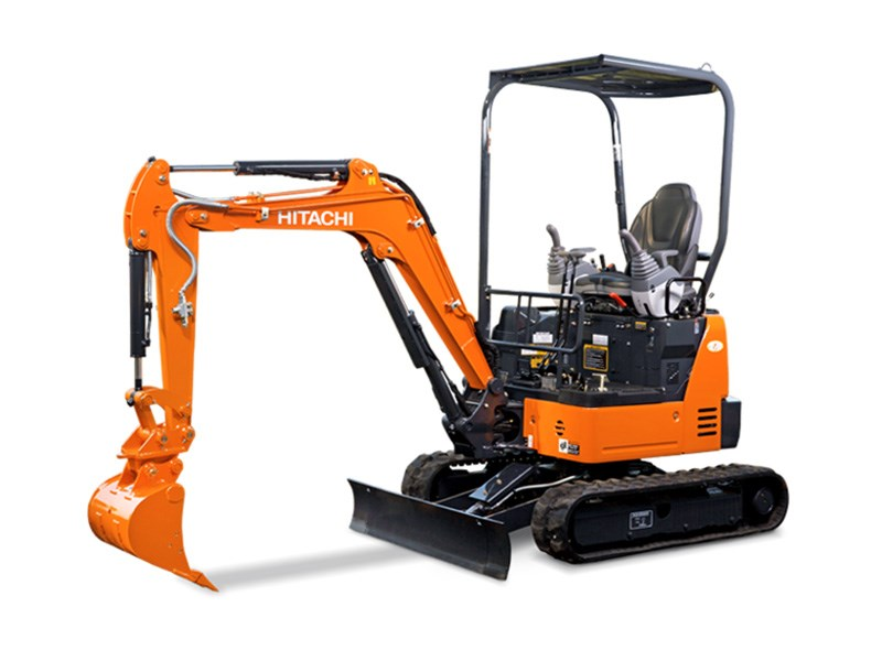 Hitachi ZX17U-5 Mini Excavator