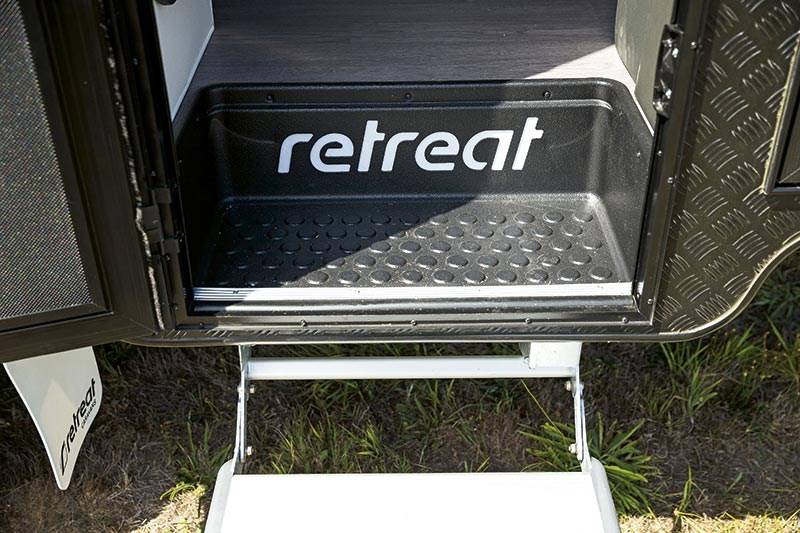 Retreat Norfold caravan
