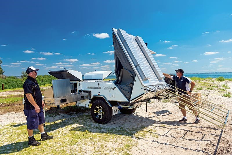 Bluetongue Overland XR camper trailer