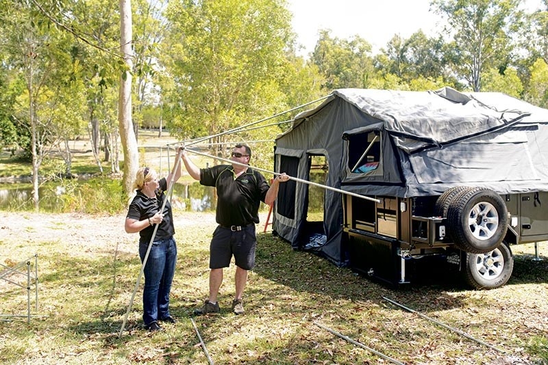 Alliance Campers Warrior camper trailer
