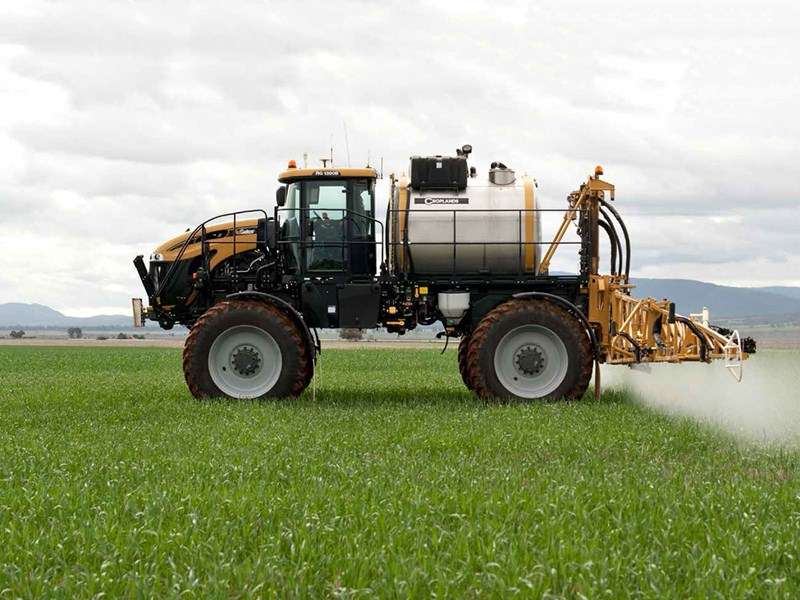 Rogator RG110 & RG1300 self propelled sprayers