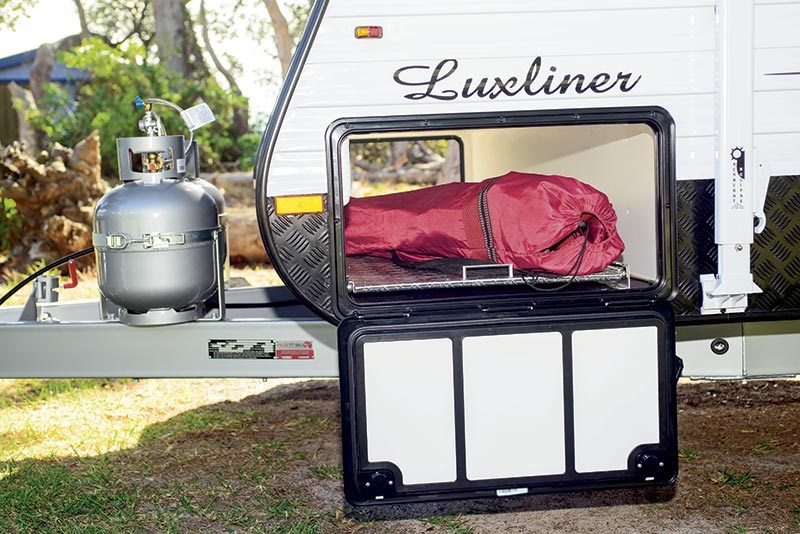 Evolution Luxliner caravan