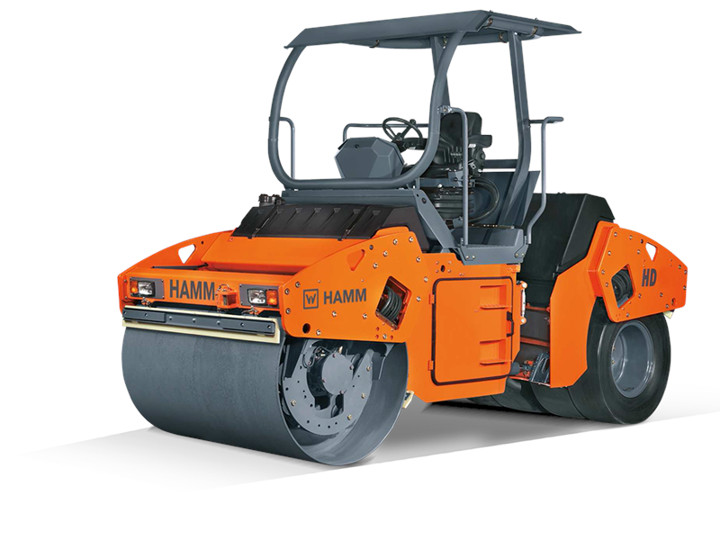 HAMM HD 110K Combination Roller