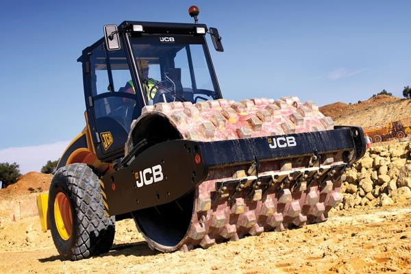 JCB VM 200PD padfoot compactor